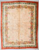 Antique French Savonnerie Rug 12 x 1411
