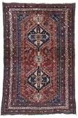 Antique Afshar Rug, Persia: 5'3'' x 8'1''