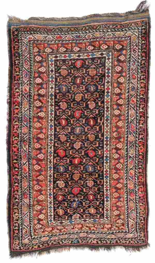 Antique West Persian Kurd Rug, Persia: 3'11'' x 6'4''