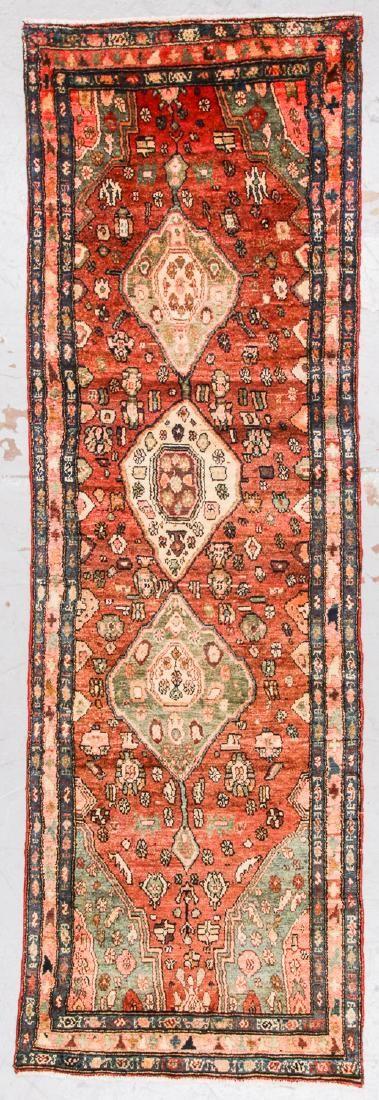 Semi-Antique Malayer Rug, Persia: 3'1'' x 9'7''