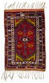 SemiAntique Turkish Village Rug 36 x 53
