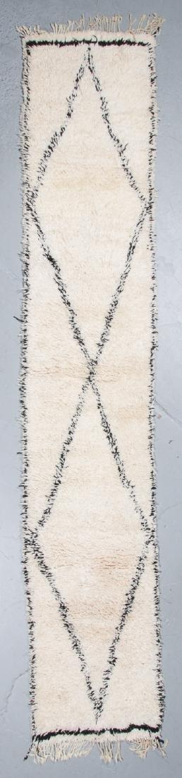 Modern Beni Ourain Rug, Morocco: 2'10'' x 14'11''