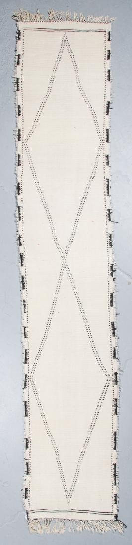 Modern Beni Ourain Rug, Morocco: 2'10'' x 14'11'' - 7