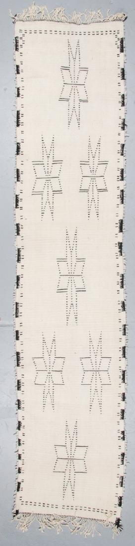 Modern Beni Ourain Rug, Morocco: 2'11'' x 13'1'' - 7