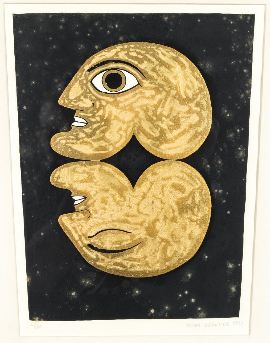 """Victor Brauner (1903-1966) """"Double Autoportrait"""", 1963"""