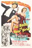 """Period Film Poster, """"The Belle of New York"""", 1952"""
