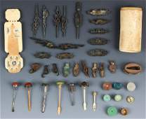 Mixed Estate Collection of Antique Chinese Items