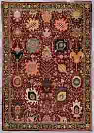 Classic Mahindra Mogul Style Rug: 9'11'' x 14'2''