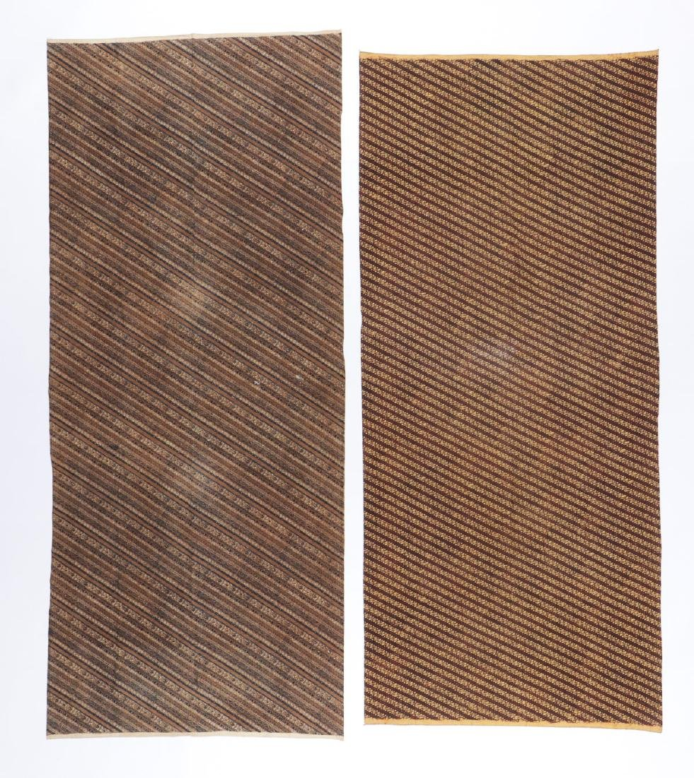 2 Batik Hip Wrappers, Java, Early 20th C - 5