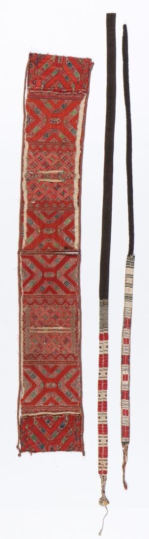3 Ethnographic Textiles - 3