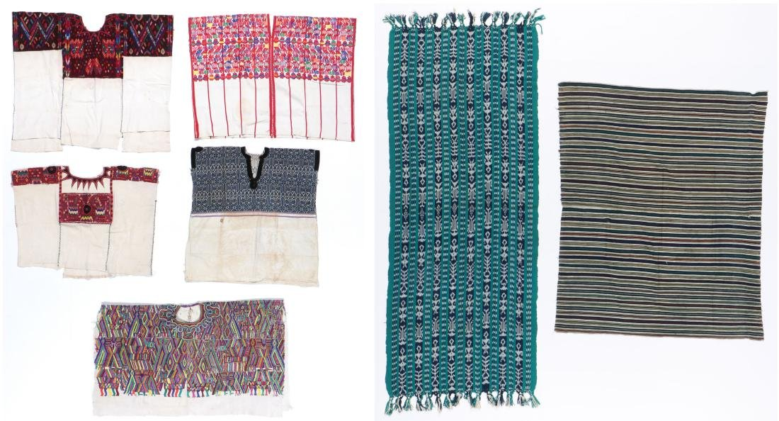 Collection of Guatemalan Textiles