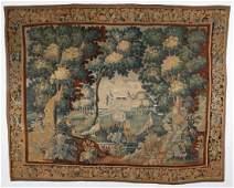 18th C. Flemish Tapestry: 9'1'' x 11'3''