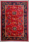 Chinese Art Deco Rug, Early 20th C: 8'0'' x 11'8''