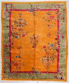 Chinese Art Deco Rug, Early 20th C: 8'0'' x 9'7''