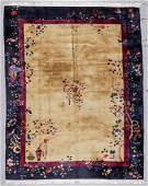 Chinese Art Deco Rug, Early 20th C: 8'10'' x 11'3''