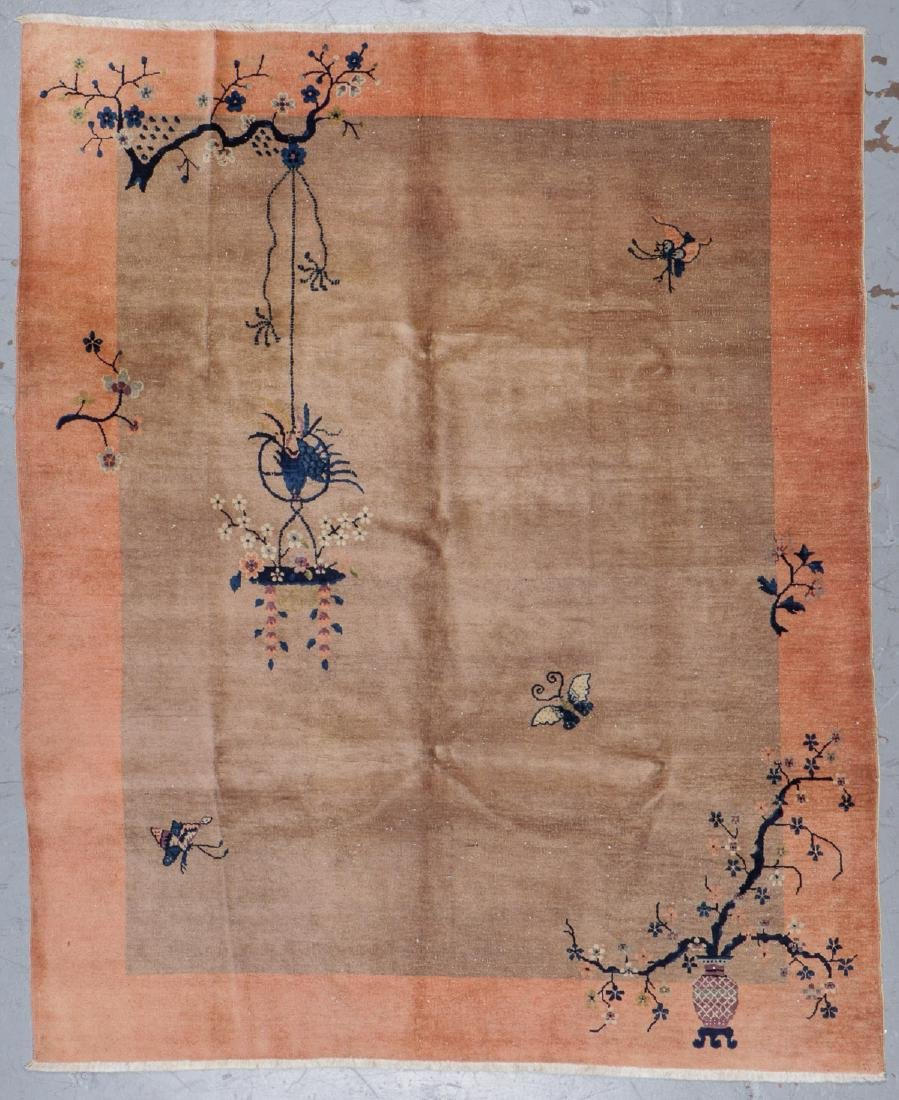 Chinese Art Deco Rug, Early 20th C: 6'11'' x 8'5''