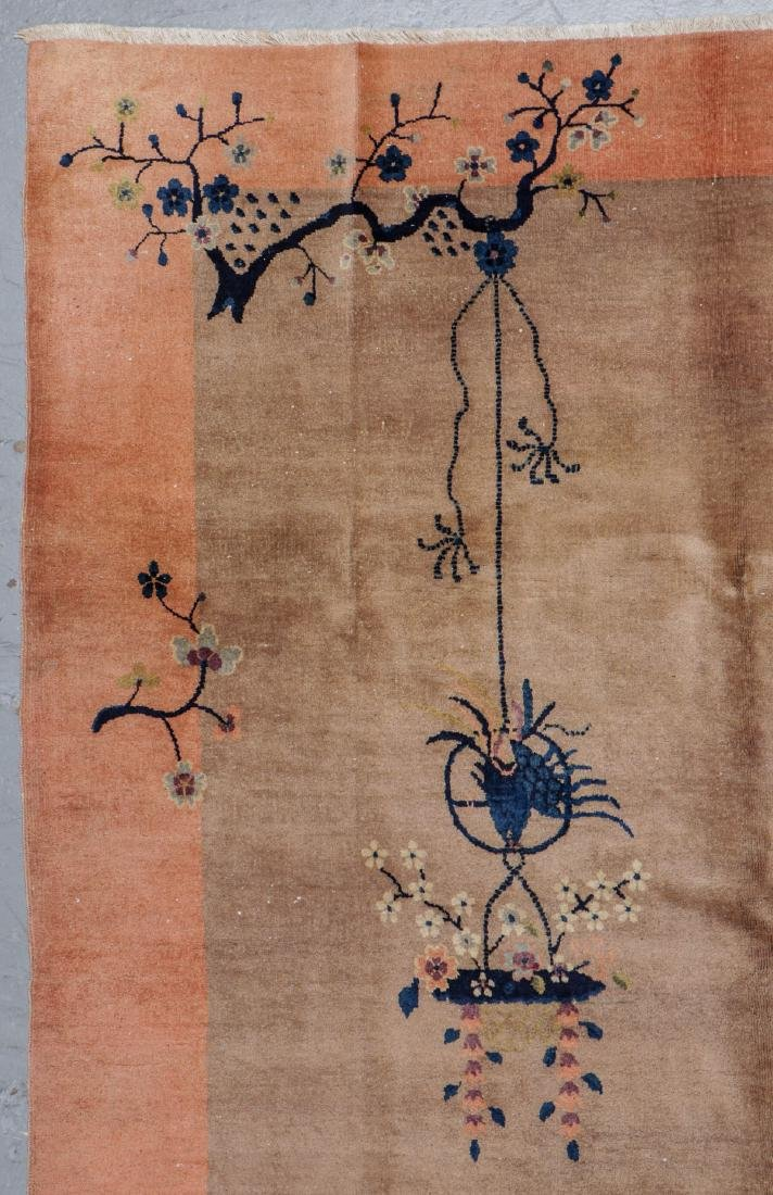 Chinese Art Deco Rug, Early 20th C: 6'11'' x 8'5'' - 2