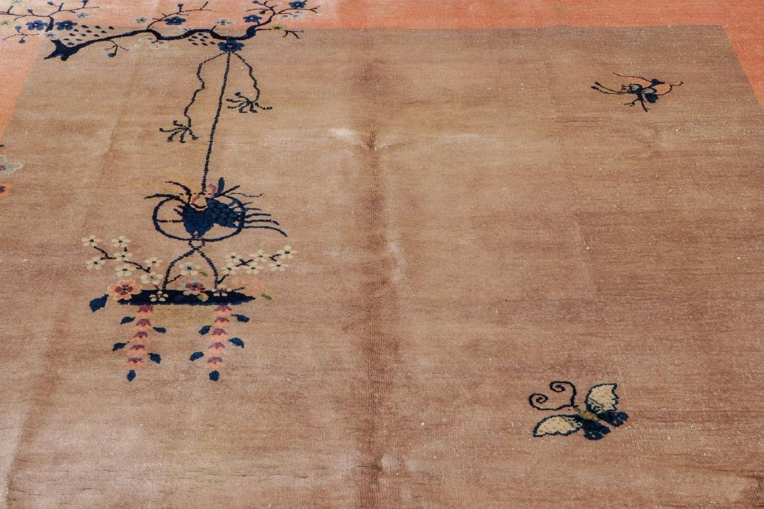 Chinese Art Deco Rug, Early 20th C: 6'11'' x 8'5'' - 7