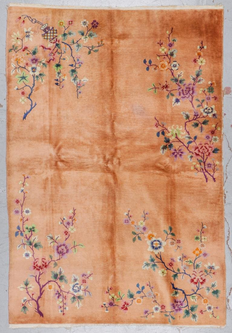 Chinese Art Deco Rug, Early 20th C: 5'10'' x 8'7''