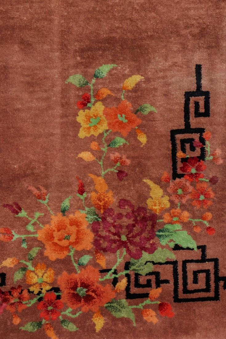 Chinese Art Deco Rug, Early 20th C: 5'8'' x 8'9'' - 3