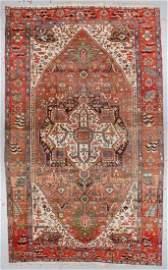 Antique Serapi Rug: 9'6'' x 15'9''