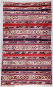 Antique Shirvan Kilim: 5'9'' x 9'8''