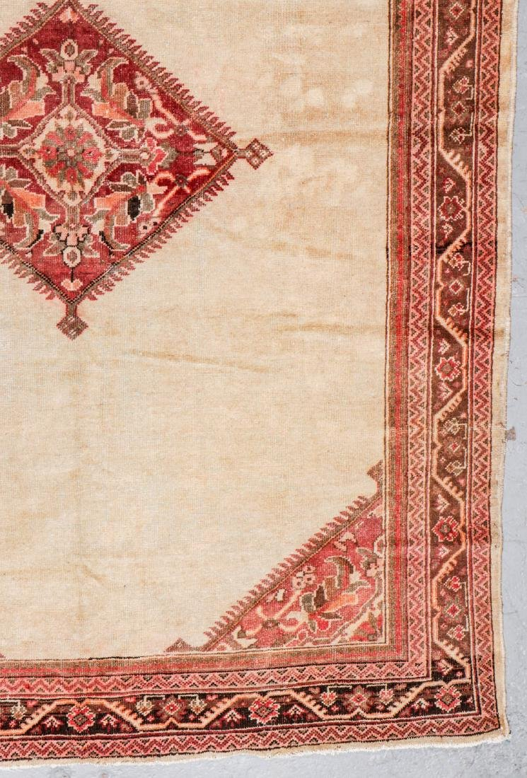 Antique Mahal Rug: 7'1'' x 10'5'' - 2