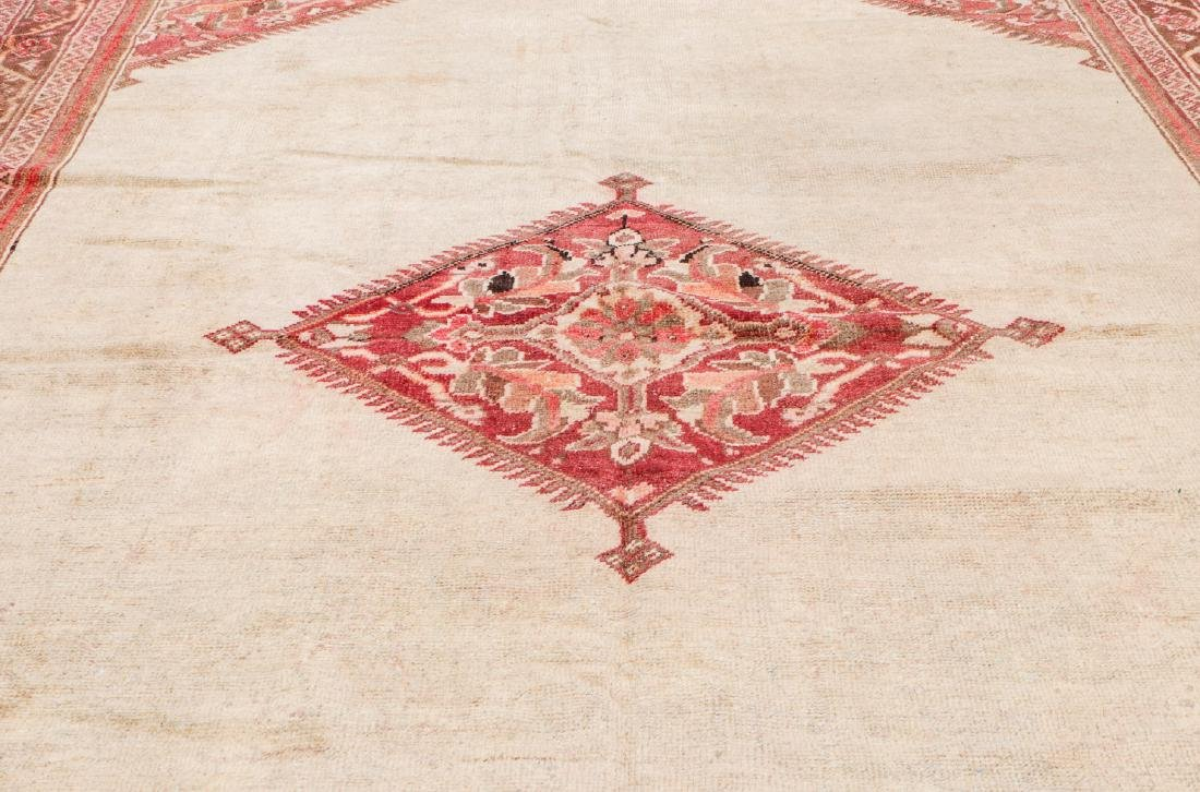 Antique Mahal Rug: 7'1'' x 10'5'' - 6