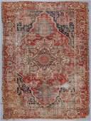 Antique Serapi Rug: 8'1'' x 12'1''