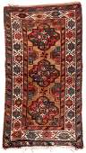 Antique West Persian Kurd Rug: 3'4'' x 6'4''