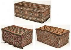 3 Antique Caucasian Cargo Bags/Beshik