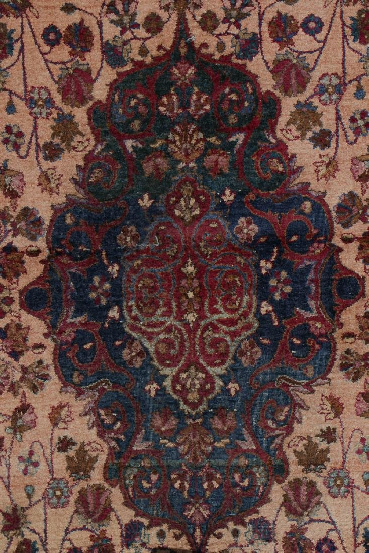 Antique Silk Kashan Rug, Persia: 4'1'' x 6'7'' - 3