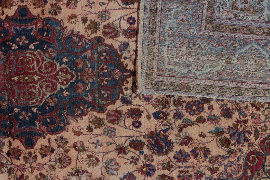 Antique Silk Kashan Rug, Persia: 4'1'' x 6'7'' - 4