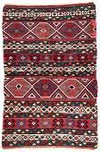 Antique Shirvan Kilim: 3'11'' x 5'11''