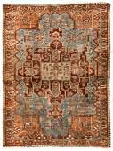 Antique Baktiari Rug Persia 411 x 66