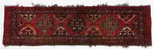 Antique Ersari Turkmen Trapping/Rug, 19th C