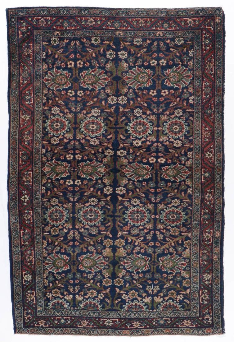Antique Mahal Rug: 4'3'' x 6'5''