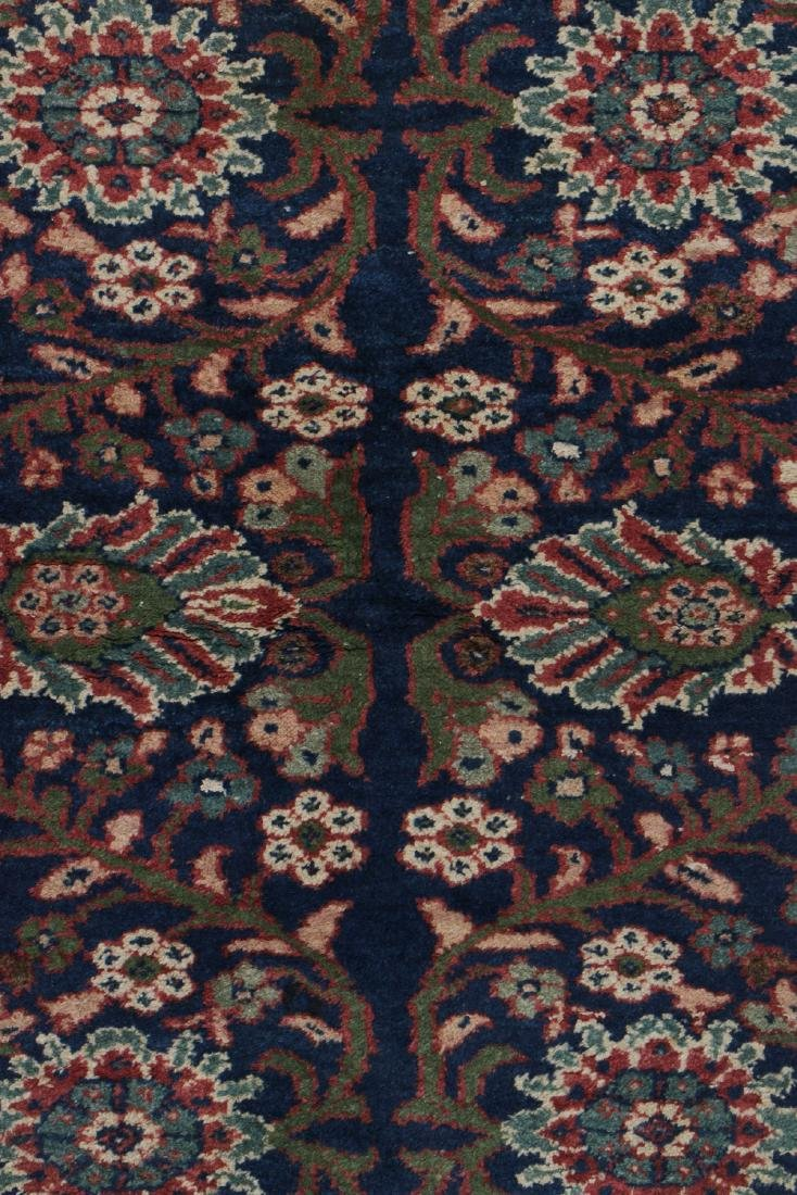 Antique Mahal Rug: 4'3'' x 6'5'' - 3