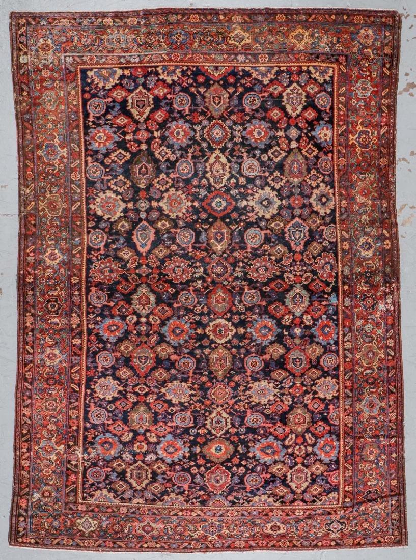 Antique Mahal Rug: 8'9'' x 11'9''