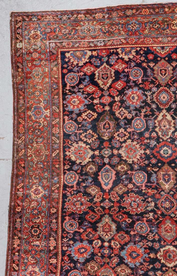 Antique Mahal Rug: 8'9'' x 11'9'' - 2