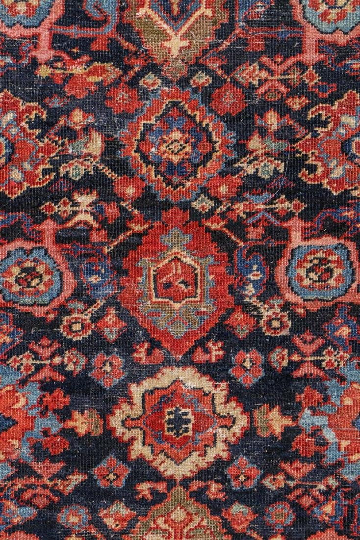 Antique Mahal Rug: 8'9'' x 11'9'' - 3