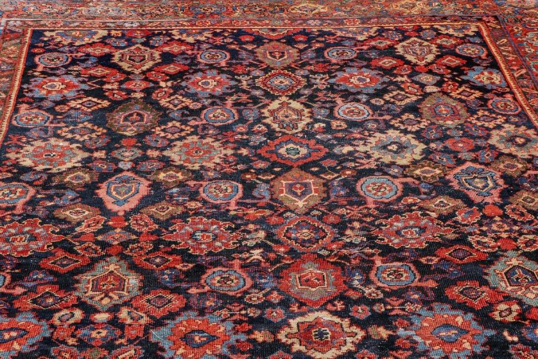 Antique Mahal Rug: 8'9'' x 11'9'' - 6