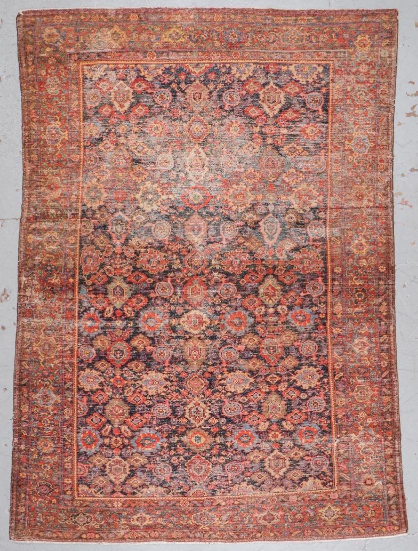 Antique Mahal Rug: 8'9'' x 11'9'' - 7