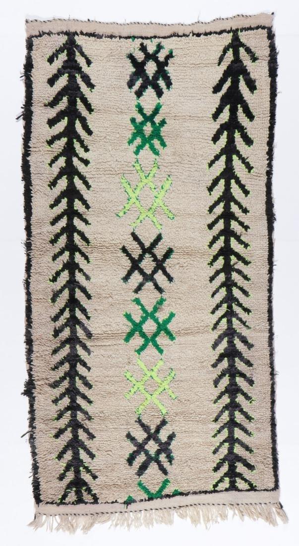 Vintage Moroccan Rug: 3'0'' x 5'10''