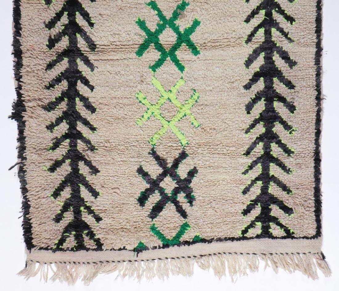 Vintage Moroccan Rug: 3'0'' x 5'10'' - 2