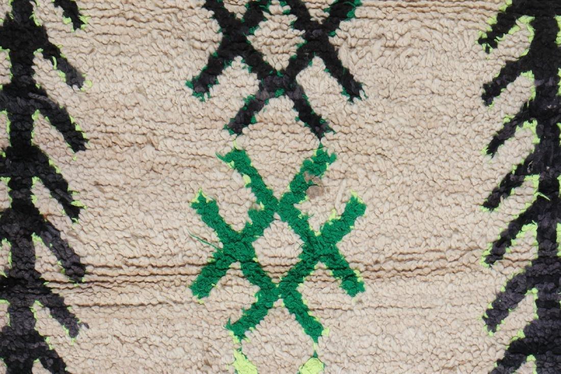 Vintage Moroccan Rug: 3'0'' x 5'10'' - 3