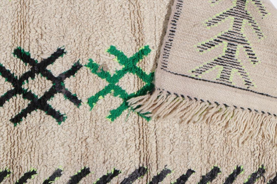 Vintage Moroccan Rug: 3'0'' x 5'10'' - 4