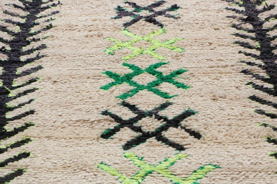 Vintage Moroccan Rug: 3'0'' x 5'10'' - 6