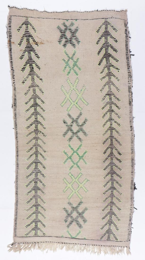 Vintage Moroccan Rug: 3'0'' x 5'10'' - 7