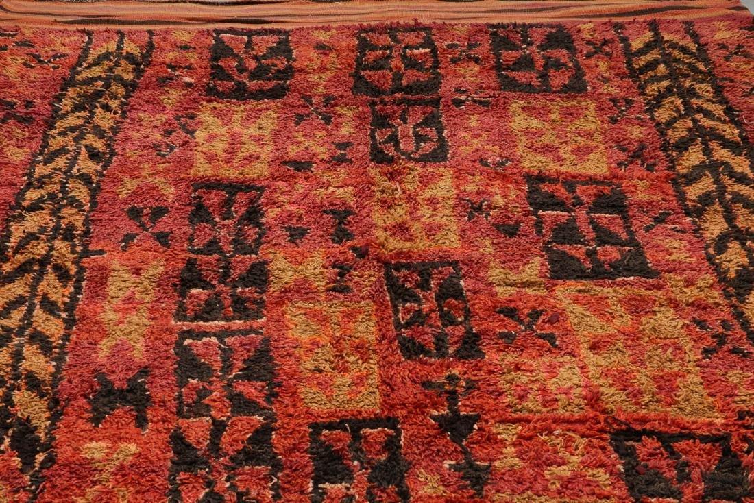 Vintage Moroccan Rug: 6'0'' x 14'0'' - 6